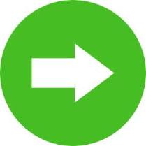 Знак «Направляющая стрелка направо»