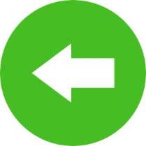 Знак «Направляющая стрелка налево»