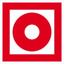 Знак «Кнопка включения систем пожарной автоматики»