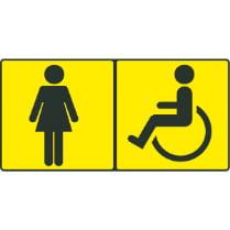 Знак «Туалет для инвалидов»