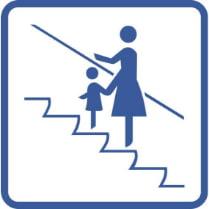 Знак «Держать маленьких детей за руку»