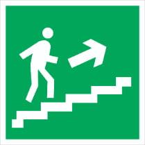 Знак «Вверх по лестнице (правосторонний)»