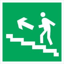 Знак «Вверх по лестнице (левосторонний)»