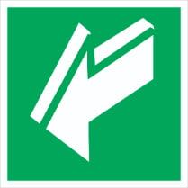 Знак «Открывать движением на себя»