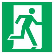 Знак «Выход здесь (правосторонний)»