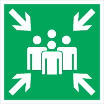 Знак «Пункт (место) сбора»