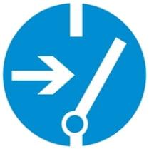 Знак «Отключить питание перед работой»