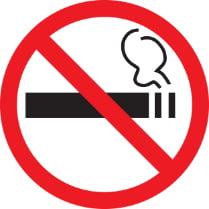 Знак «Курить запрещено»