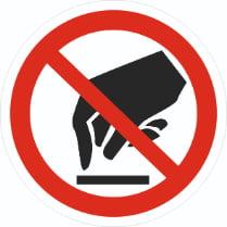 Знак «Запрещается прикасаться. Опасно»
