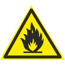 Знак «Легко воспламеняемые вещества»