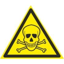 Знак «Ядовитые вещества»