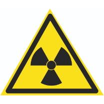 Знак «Радиоактивные вещества»
