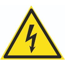 Знак «Возможность поражения электрическим током»
