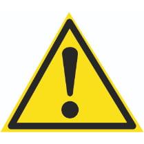 Знак «Внимание опасность»