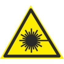 Знак «Лазерное излучение»