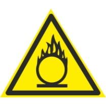 Знак «Внимание окислитель»