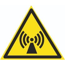 Знак «Электромагнитное излучение»