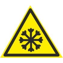 Знак «Внимание холод»
