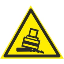 Знак «Опасность опрокидывания»