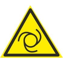 Знак «Внимание возможен автоматический запуск оборудования»