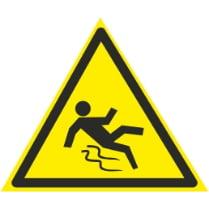 Знак «Осторожно скользко»