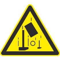 Знак «Осторожно, возможность падения предметов»