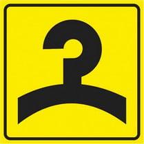Знак «Гардероб»
