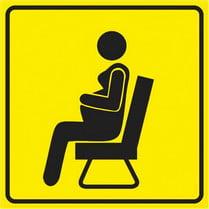 Знак «Место для беременных»