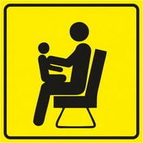 Знак «Место для инвалидов, пожилых, людей с детьми»