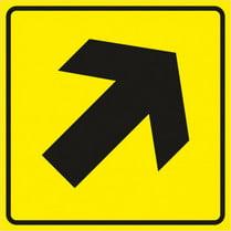 Знак «Направление движения вверх»