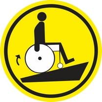 Знак «Осторожно! Крутой подъём»
