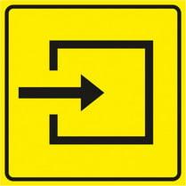 Знак «Вход в помещение»